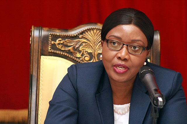 female presidents around the world - Prime Minister Saara Kuugogelwa-Amadhila